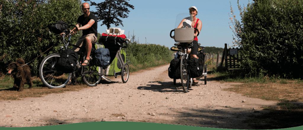 De fietsroutes van Heusden